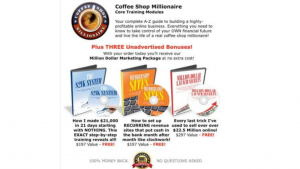 a pictures of Coffee Shop Millionaire is a Scam and Hoax