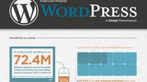 a view of wordpress showing how important it is to have an amazon affiliate website niche