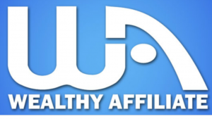 A picture of the words wealthy affiliate