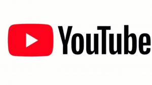 A picture of the words YouTube