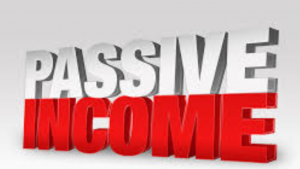 A picture of the words passive income