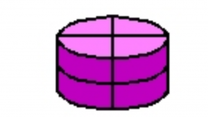a cartoon picture of a of pie thats cut into four sections, Solution to the cake riddle at Just Riddles and More