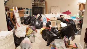 a picture of a lot of clutter