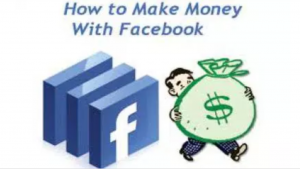 How to make money with Facebook picture with a short guy holding a bag of money