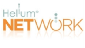 a picture of the helium network website logo